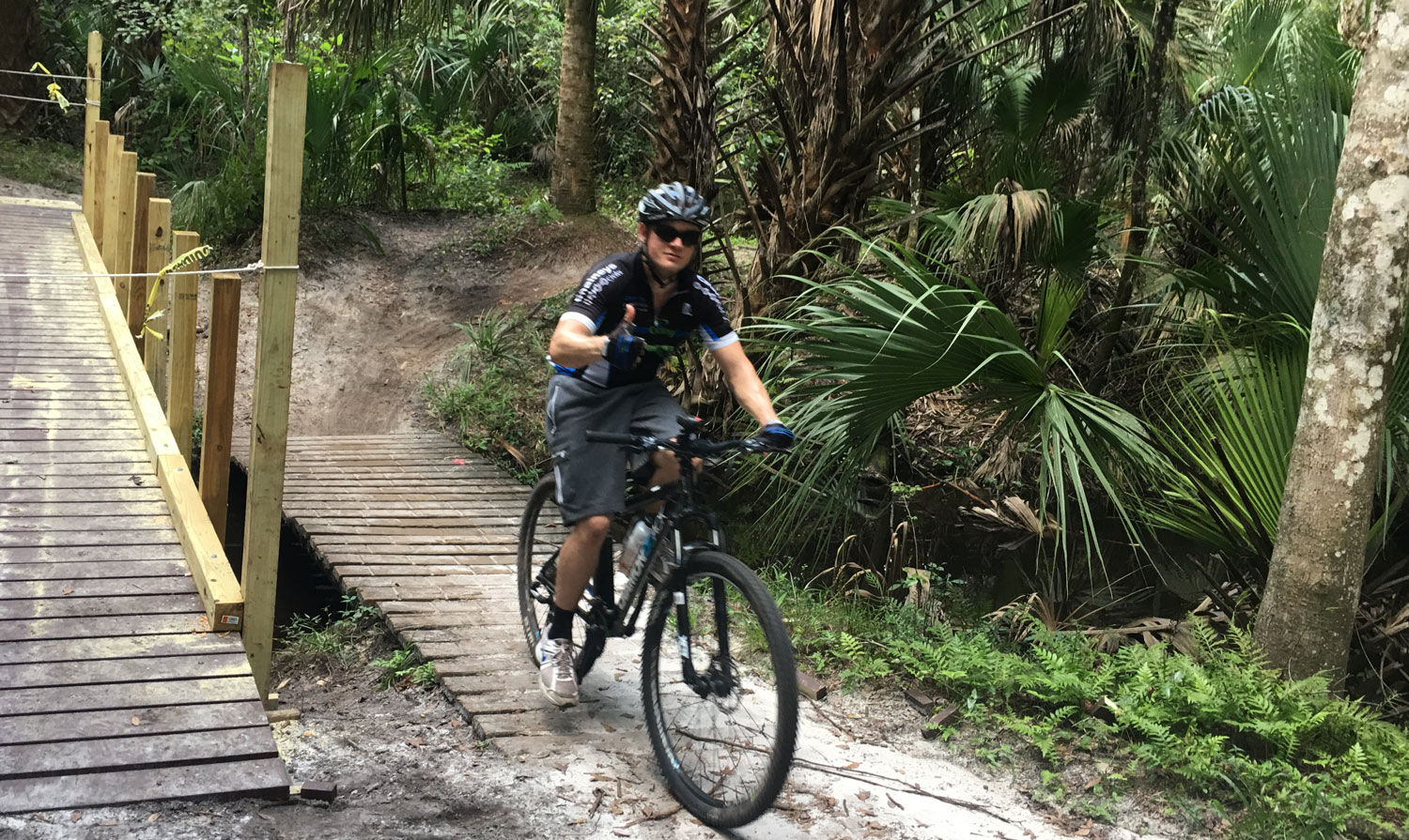 Snowhill Mountain Bike Trail map fun things to do in orlando
