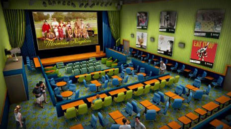 Enzian Theater Orlando Florida Inside